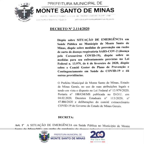 DECRETO - 2.114/2020