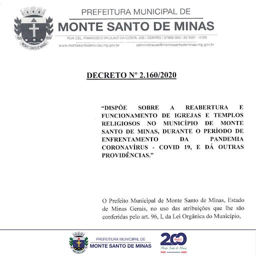 DECRETO - 2.160/2020