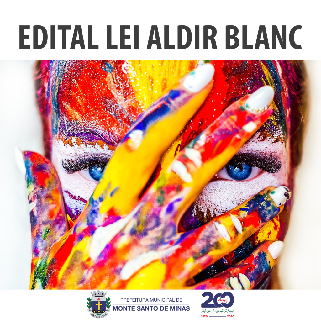 EDITAL LEI ALDIR BLANC