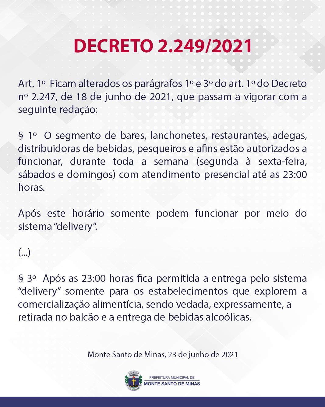 DECRETO-2249