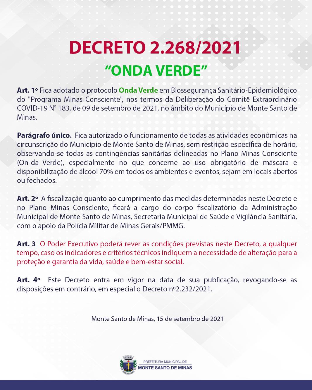 DECRETO-2268